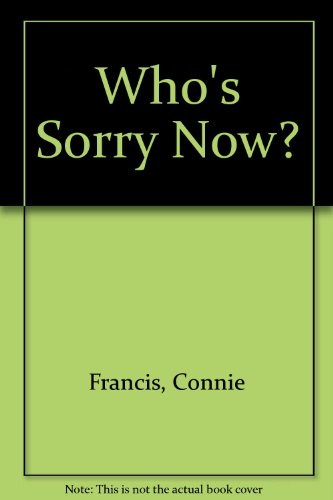 9780863790737: Who's Sorry Now?