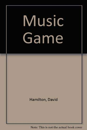 The music game: An autobiography (0863791247) by Dr. David Hamilton