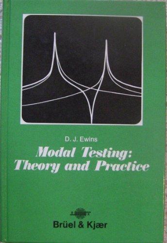 9780863800368: Zz Modal Testing Zz