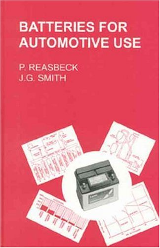 9780863801761: Batteries for Automotive Use