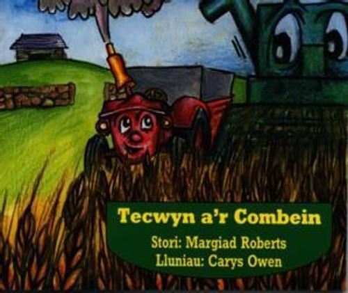 9780863813689: Tecwyn a'r Combein (Cyfres Tecwyn y Tractor)