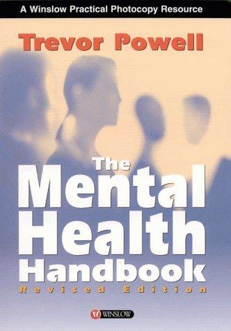 9780863882685: The Mental Health Handbook