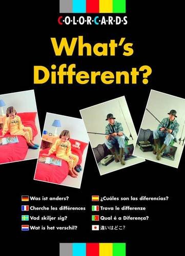 9780863883958: What's Different?: Colorcards