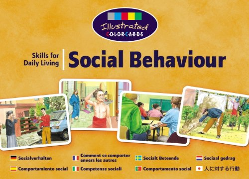 9780863884221: Social Behaviour (ColorCards Illustrated)