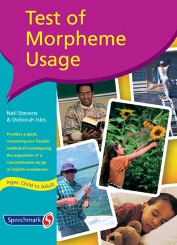 9780863884597: Test of Morpheme Usage
