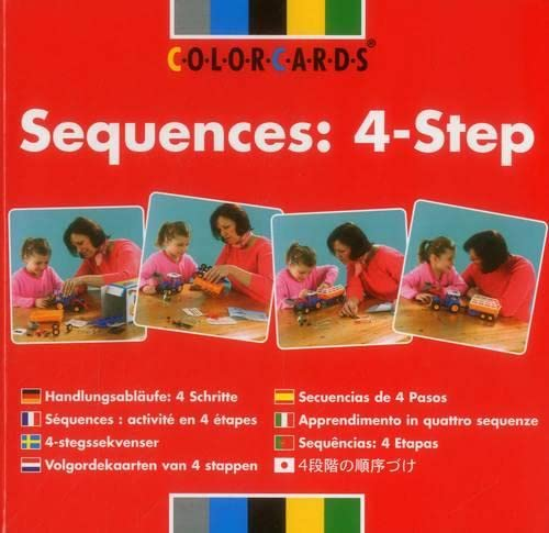 9780863885266: Sequences: 4-step (Sequencing ColorCards)
