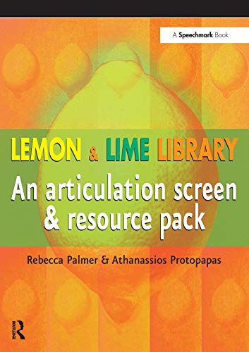 9780863885488: Lemon and Lime Library: An Articulation Screen and Resource Pack