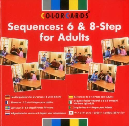 9780863885570: Sequences: 6 and 8-step for Adults (Sequencing ColorCards)
