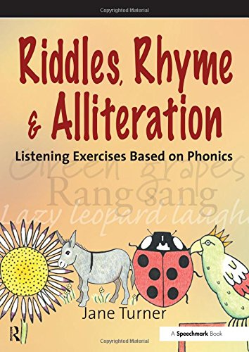 9780863886003: Riddles, Rhymes and Alliteration: Listening Exercises Based on Phonics