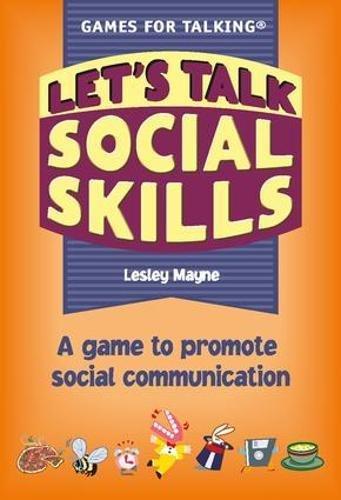 Let's Talk Social Skills: A Game to Promote Social Communication (Games for Talking): Mayne, ...