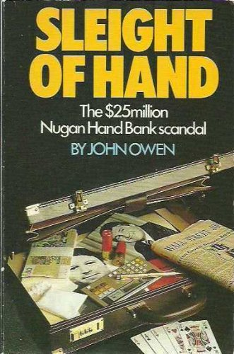 9780863990236: Sleight of hand: The $25 million Nugan Hand Bank scandal
