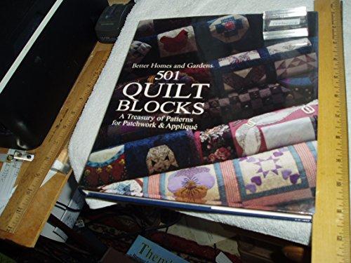 9780864114822: Better Homes and Gardens: 501 Quilt Blocks
