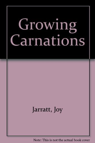 9780864172006: Growing Carnations