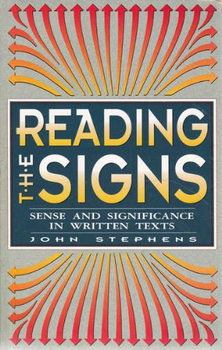 9780864174253: Reading the Signs: Sense and Significance in Written Texts