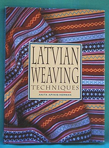 9780864174260: Latvian Weaving Techniques