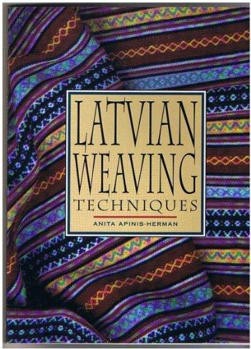 9780864176585: Latvian Weaving Techniques