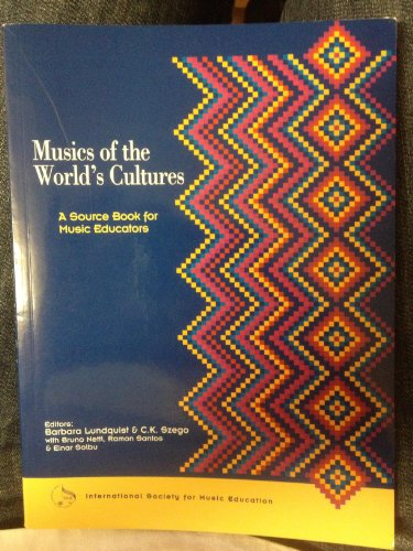 9780864228505: Musics of the World's Cultures: A Source Book for Music Educators