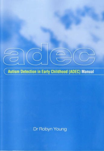 9780864314468: Autism Detection in Early Childhood (ADEC) Manual