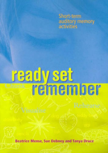 9780864314680: Ready Set Remember: Short-term auditory memory activities