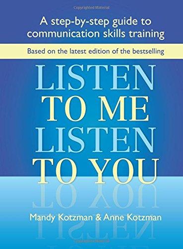 Listen to Me, Listen to You: A: Kotzman, Anne
