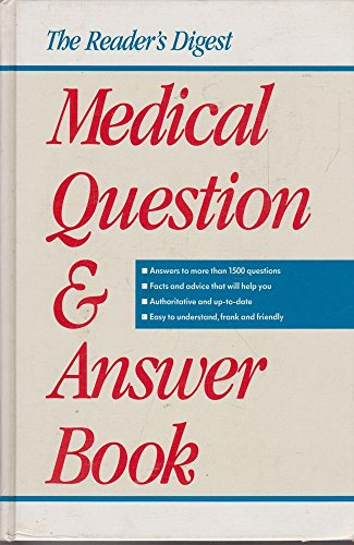 9780864380708: The Reader's Digest Medical Question & Answer Book