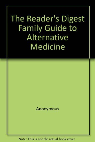 9780864382368: The Reader's Digest Family Guide to Alternative Medicine