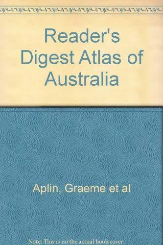 9780864386953: Reader's Digest Atlas of Australia