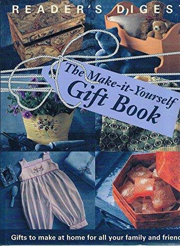 The make it yourself gift book gifts to make the make it yourself gift book gifts to make at home for all your family solutioingenieria Choice Image