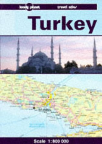 9780864422729: Lonely Planet Turkey : A Lonely Planet Travel Atlas (ATLAS)