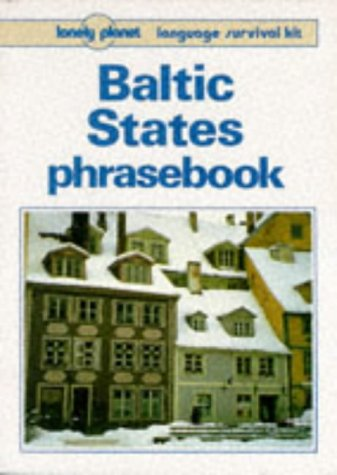 9780864423009: Lonely Planet Baltic States Phrasebook
