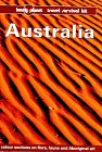 9780864423627: Lonely Planet Australia (8th ed.)