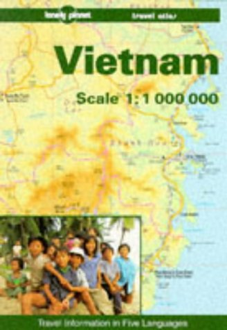 9780864423672: Lonely Planet Vietnam Travel Atlas (Travel information in Five Languages) (English and French Edition)