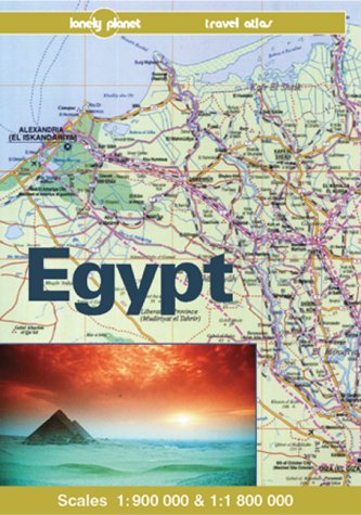 9780864423764: Lonely Planet Egypt: A Travel Atlas (Lonely Planet Travel Atlas)