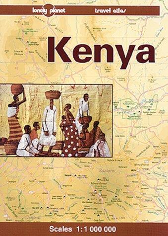 9780864424426: KENYA TRAVEL ATLAS 1ED (Lonely Planet Travel Atlas)