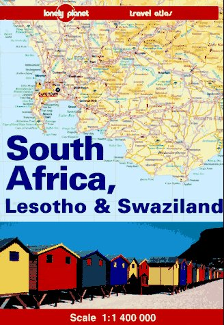 9780864424433: SOUTH AFRICA, LESOTHO & SWAZILAND (Lonely Planet Travel Atlas)