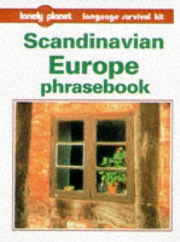 9780864425058: Lonely Planet Scandinavian Europe Phrasebook (Loney Planet Language Survival Kit)