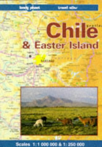 9780864425171: Lonely Planet Chile and Easter Island: A Lonely Planet Travel Atlas