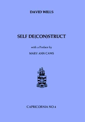 9780864431417: Self De(con)struct: Writing and the Surrealist Text (Capricornia, 4)