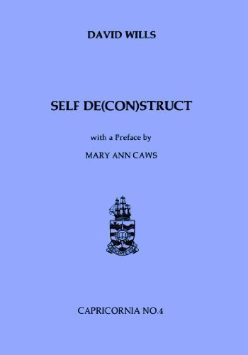 9780864431417: Self De(con)struct: Writing and the Surrealist Text (Capricornia, 4)