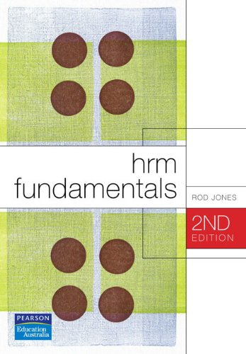 HRM Fundamentals: Jones, Rod