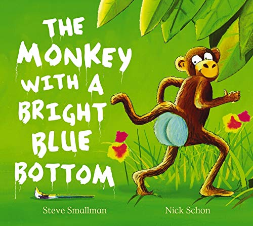 9780864618559: Monkey with a Bright Blue Bottom, The