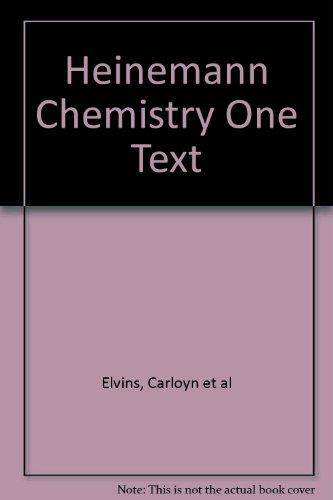9780864624376: Heinemann Chemistry One Text