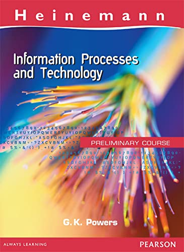 9780864625014: Information Processes And Technology : Preliminary Course