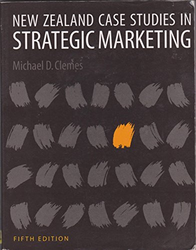 9780864694195: New Zealand Case Studies in Strategic Marketing