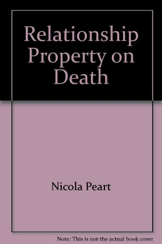 9780864724779: Relationship Property on Death