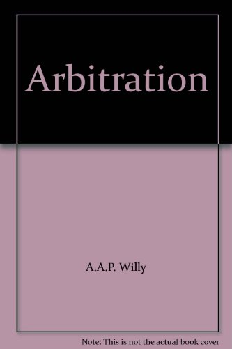 Arbitration (Paperback): Anthony Willy