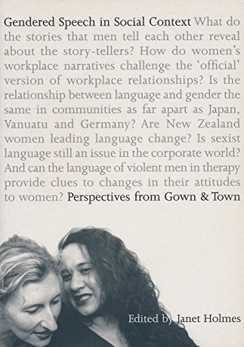 9780864734020: Gendered speech in social context: Perspectives from gown and town