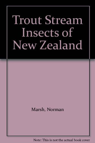 9780864790477: Trout Stream Insects of New Zealand