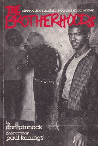 9780864860231: The Brotherhoods: Street Gangs and State Control in Cape Town