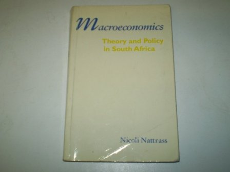 9780864863393: Macroeconomics: Theory and Policy in South Africa